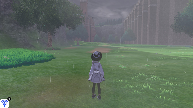 Pokémon sword and shield wild area