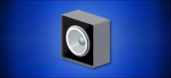 Icona degli altoparlanti di Windows 10
