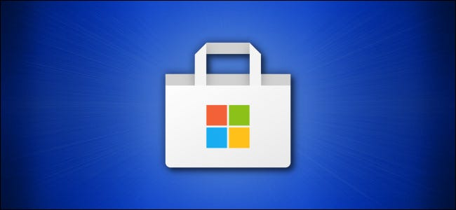 Herói do logotipo da Windows Microsoft Store