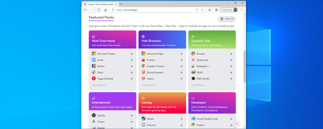 How to Easily Install Apps With Windows 10's Package Manager (Using winstall)