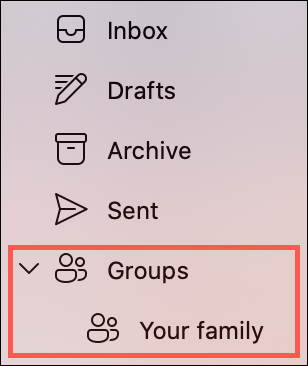 Expand Groups in the sidebar