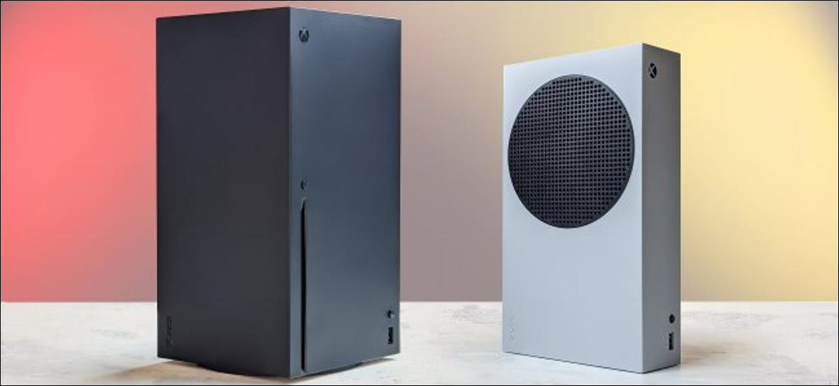 Microsoft's Xbox Series X and S consoles.