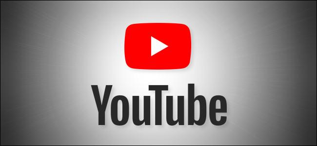 YouTube Logo on Grey Background