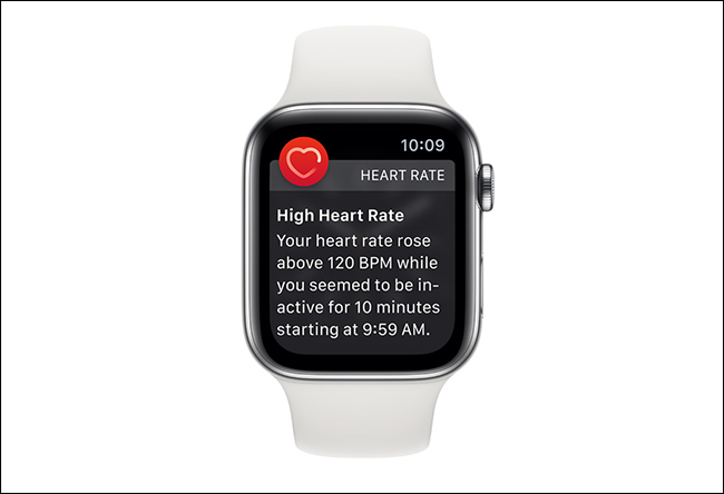 apple watch heart rate alert