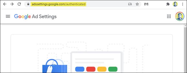 pagina delle impostazioni degli annunci Google