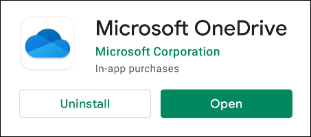 """Download the """"OneDrive"""" app on Android"""