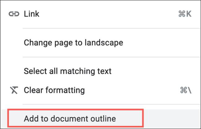 Right-click and Choose Add To Document Outline