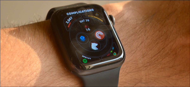 Apple Watch User Customizing Complications