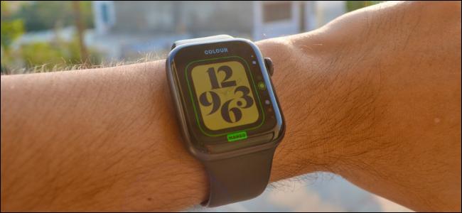 Apple Watch User Customizing Look of Watch Face