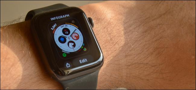 Apple Watch User Editing Watch Face
