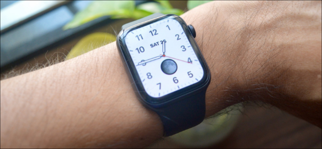 Apple Watch con il nuovo quadrante dell'orologio