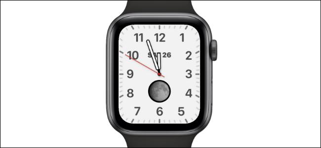 California Watch Face on Apple Watch