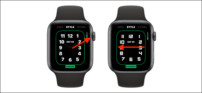 Customize Style on Typography Watch Face