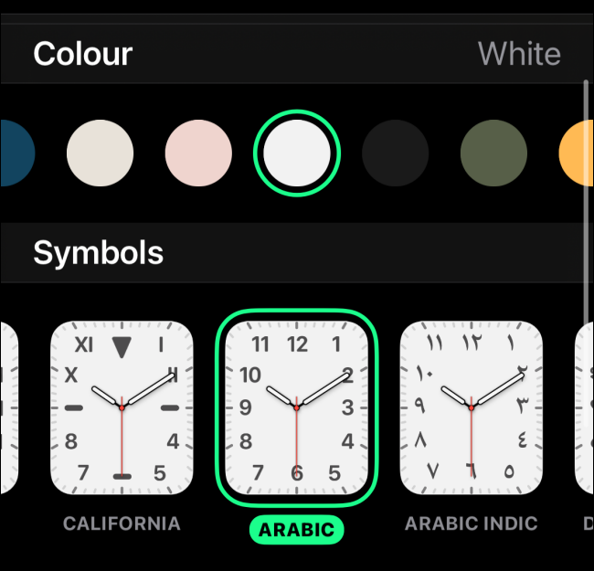 Customize the Watch Face