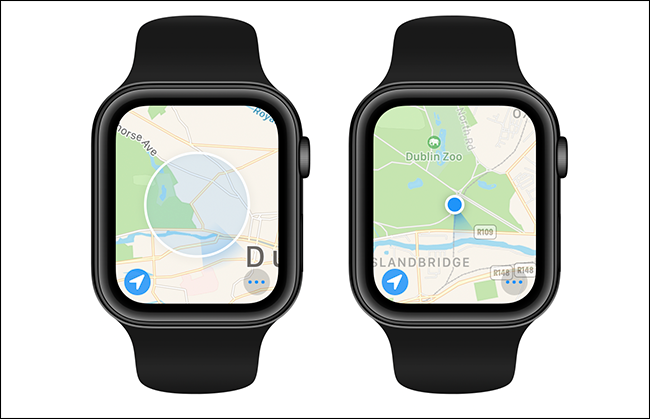 comparison of good and bad GPS fixes