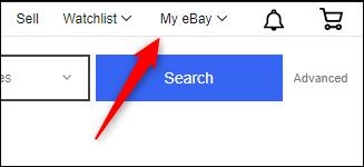 My eBay button