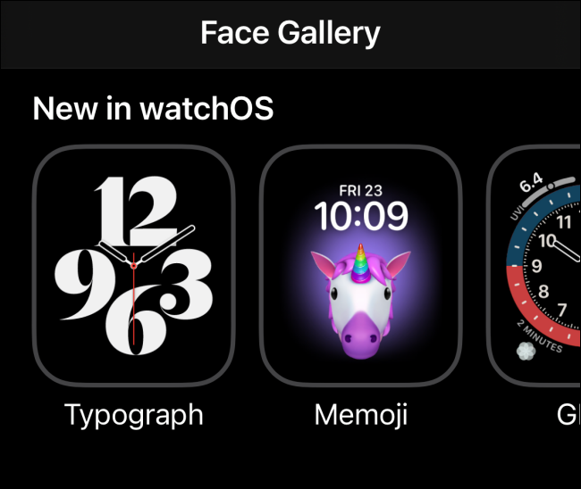 New Watch Faces for Apple Watch