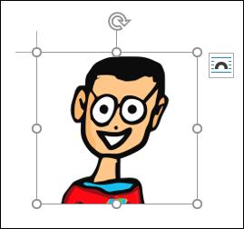 Immagine selezionata in Microsoft Word