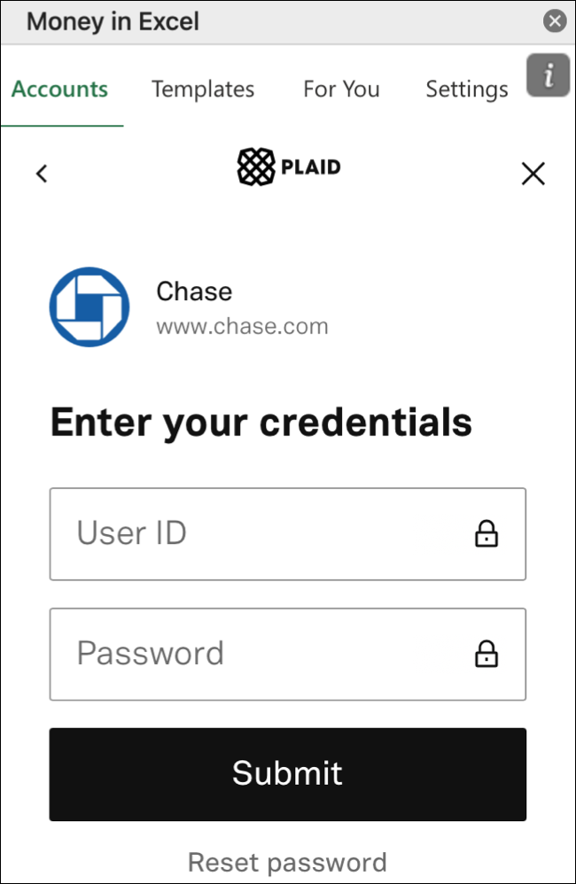 Sign In To Your Bank