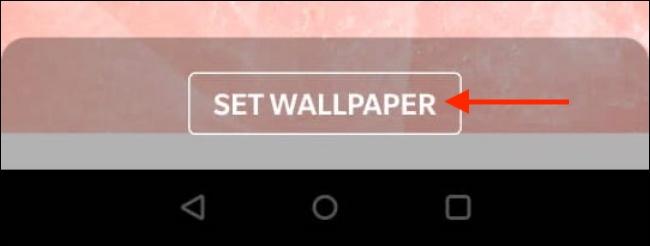 Tap Set Wallpaper