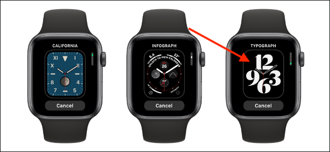 Tap The Watch Face to add it to Apple Watch