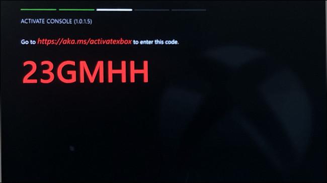 Xbox Dev Mode code