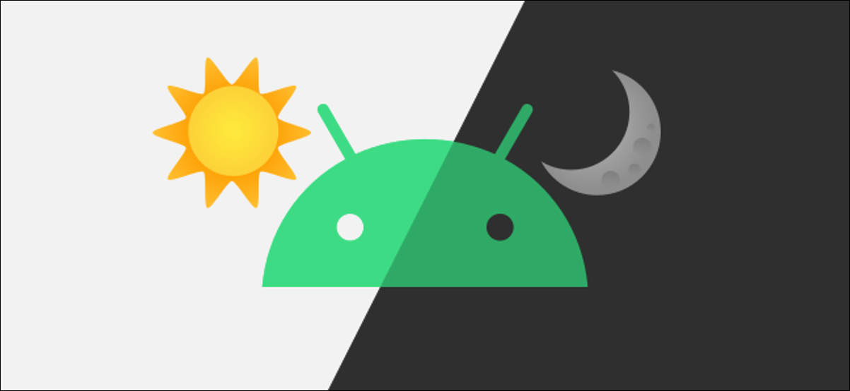 android logo with sunset and sunrise