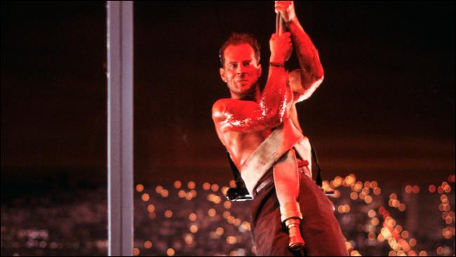 Bruce Willis em Die Hard