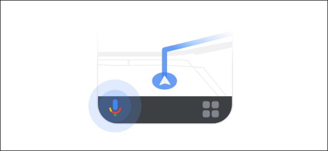 google assistant driving logo