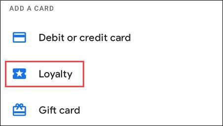 "Choose ""Loyalty"""