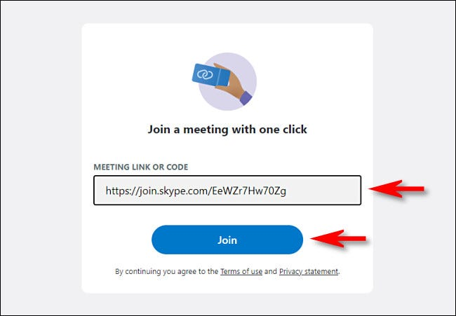 "Paste your invitation code and click ""Join"""