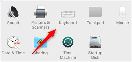 keyboard option