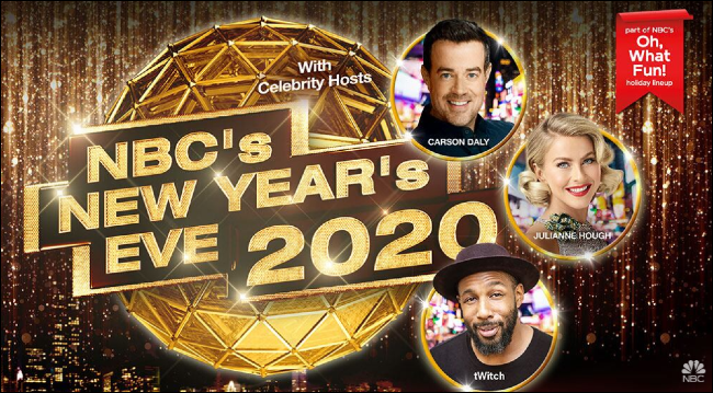 NBC's New Year's Eve 2020