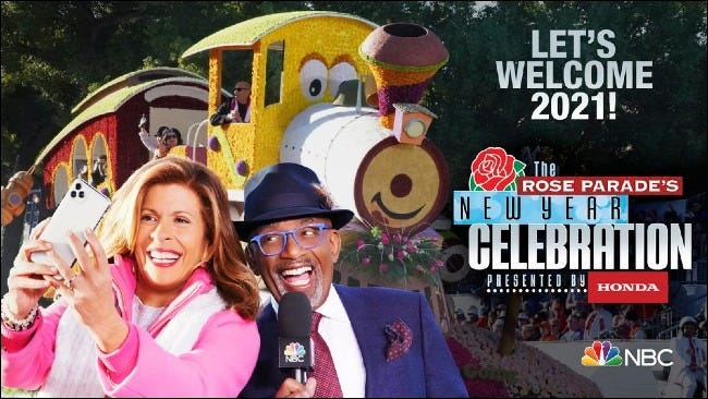 The Rose Parade's New Year's Celebration on NBC