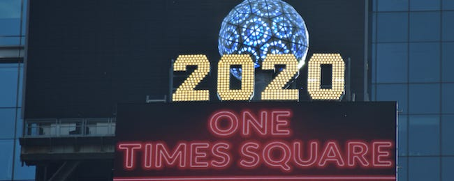 How to Watch the 2020 Times Square New Year's Eve Ball Drop