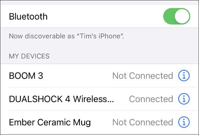 Pair DualShock 4 with iPhone via Bluetooth