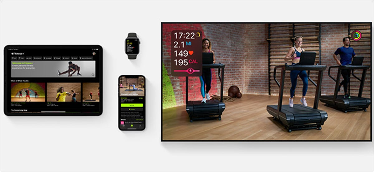 preview image showing Apple Fitness+