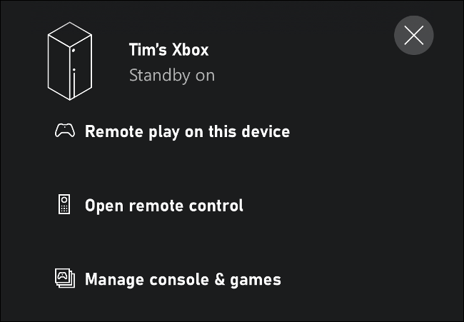 Remote Play on This Xbox via iPhone