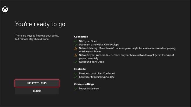 Testing Remote Play on Xbox Series X|S