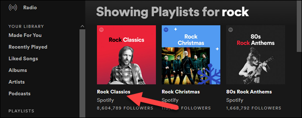 select a playlist to download