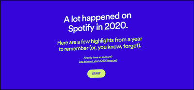 campagne emailing spotify