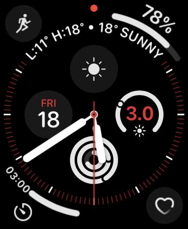 Apple Watch Infograph Watch Face