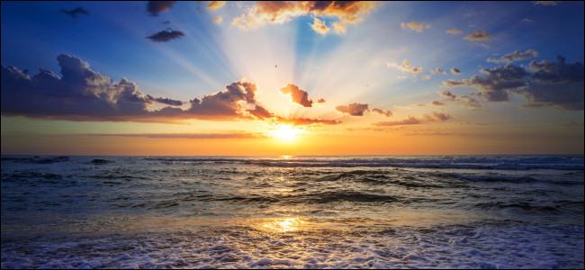Ocean Sunrise or Sunset