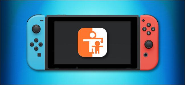 Bảng điều khiển và biểu tượng Nintendo Switch Parental Controls
