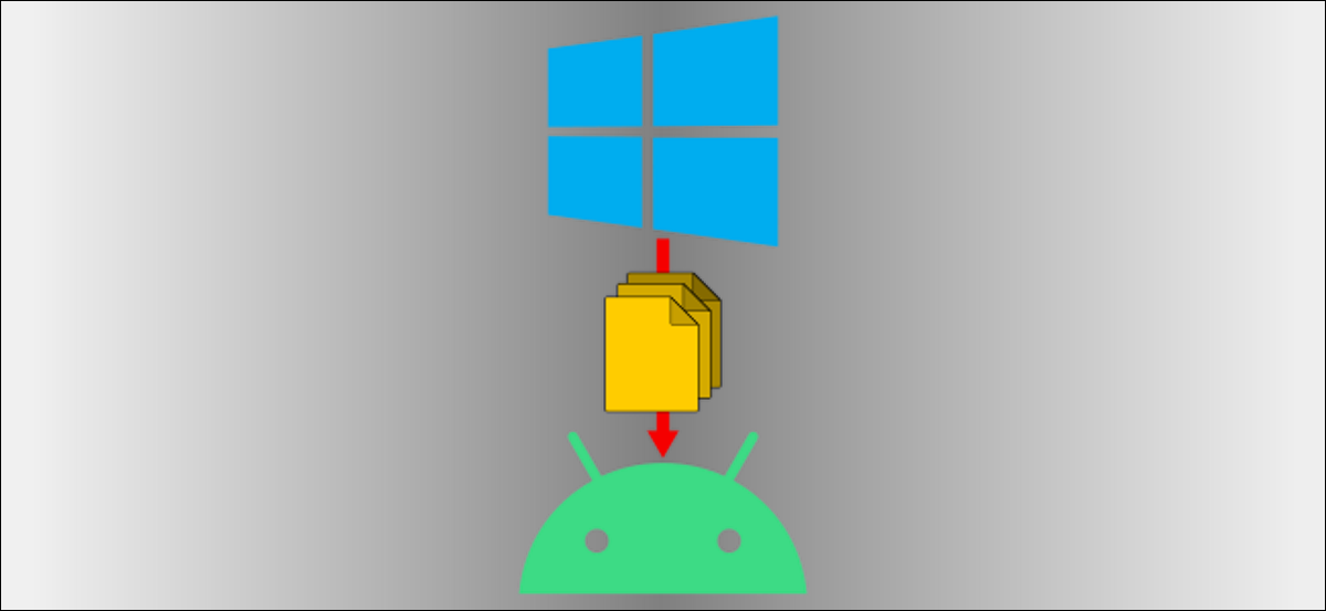 windows transfer to android