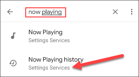 search for play history now