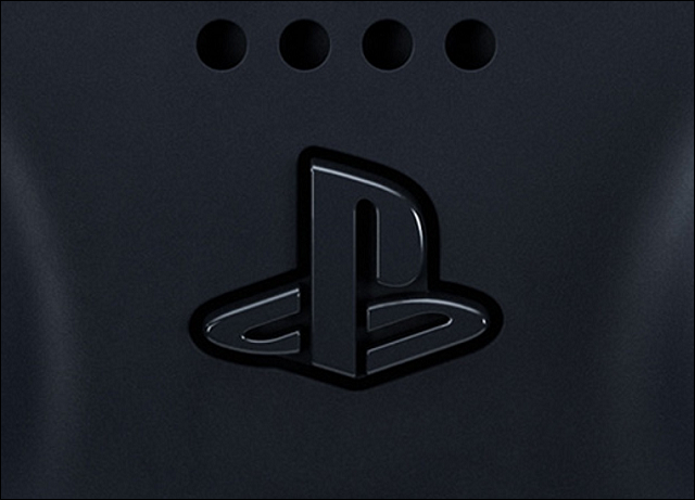 the playstation 5 dualsense controller logo button