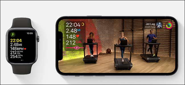 apple fitness + sample image