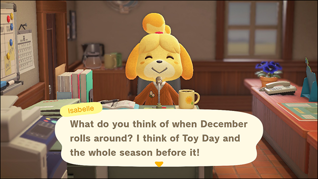animal crossing new horizons toy day