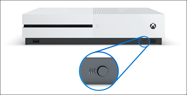 Xbox One S Pairing Button